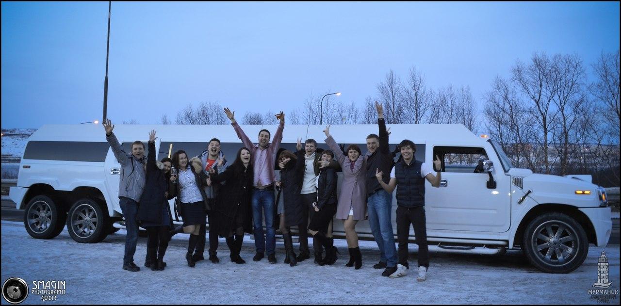 Прокат лимузина в Мурманске